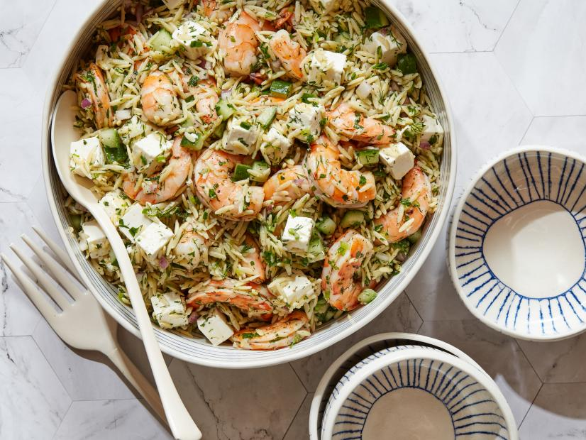 Seafood and Orzo Salad