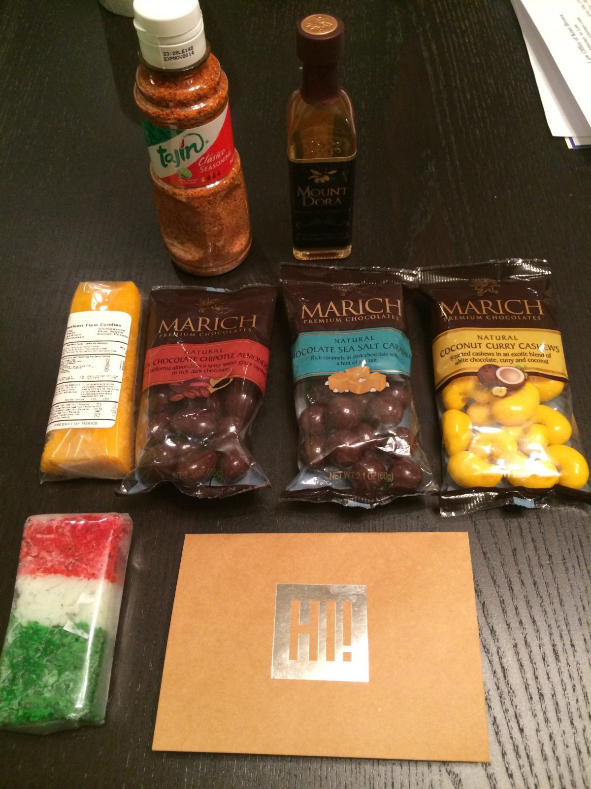 March Foodie Pen Pals