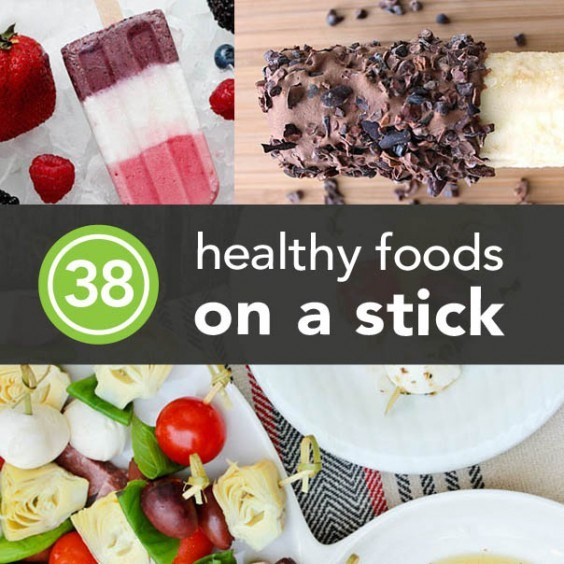 Healthy Meals on a Stick