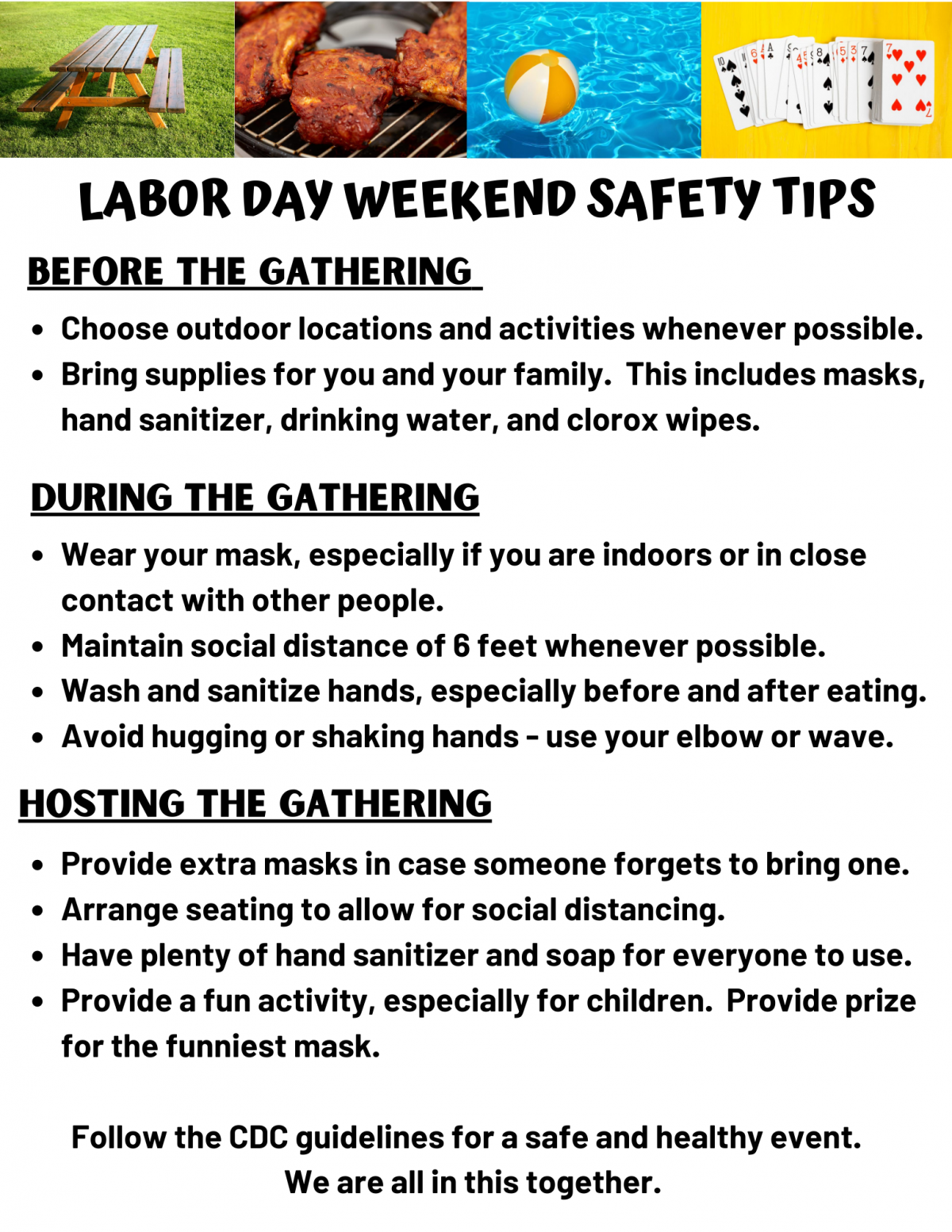 Labor Day Safety, Labor Day Health Tips