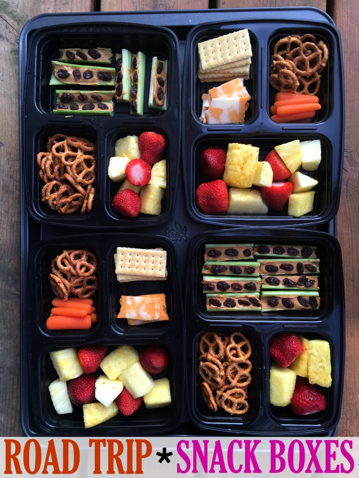 Road Trip Snack Boxes- – Make the Best of Everything