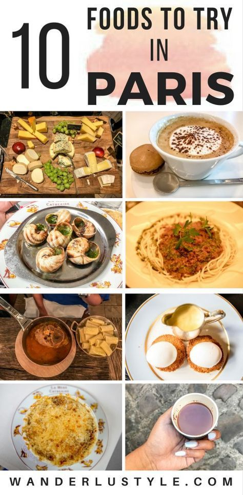 Travel Series: Paris Food