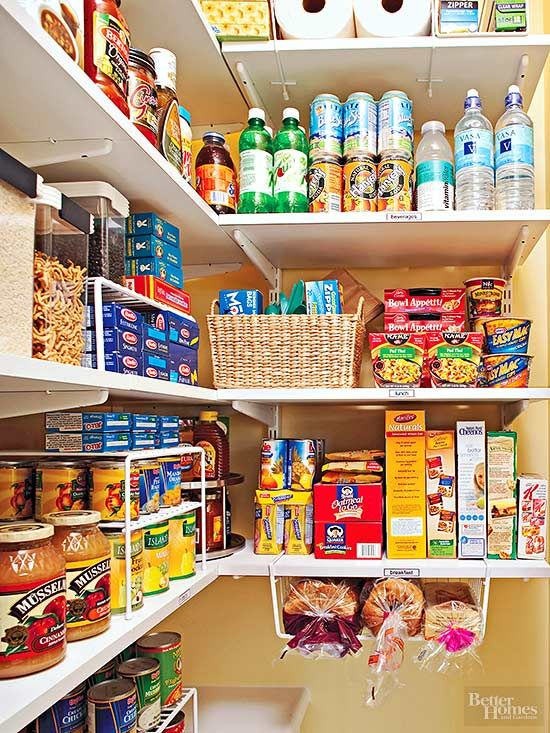 How to Organize Your Food Pantry