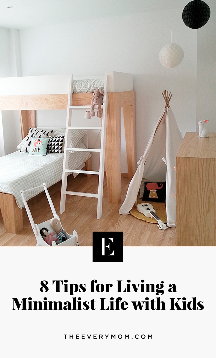 Minimalist Lifestyle is Healthy for Kids, Parents